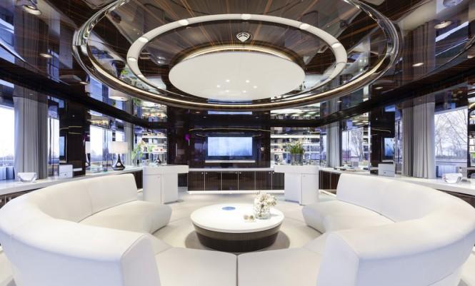 Superyacht MySky - Saloon