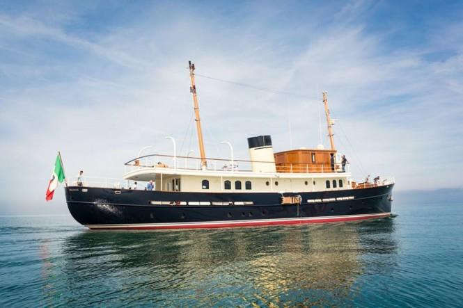 Superyacht Taransay - Photo credit to Wioletta Kowalska and Rossinavi