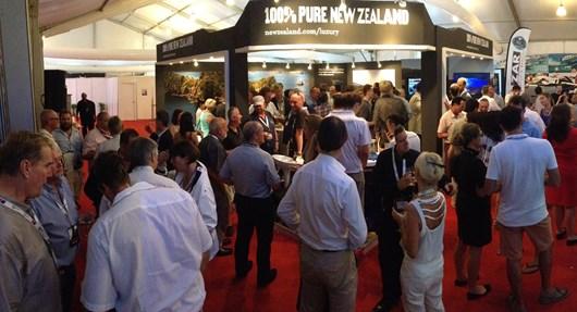 Tourism New Zealand at Singapore Yacht Show