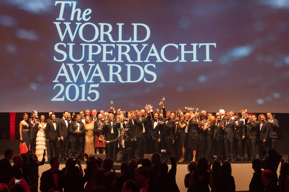 Winners of the World Superyacht Awards 2015 - Image Credit to Mark Sims