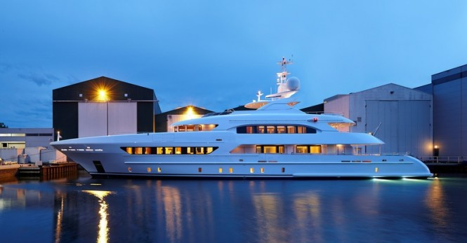YN 16847 superyacht ELENA (Project MARGARITA)  - Photo credit to Dick Holthuis Photography