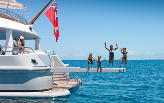 Yacht BELLE AIMEE -  Fun in the water