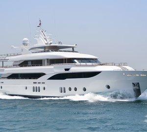 Take a glimpse at New MAJESTY 155 Yacht – Gulf Craft's largest and latest addition to Majesty Yachts brand
