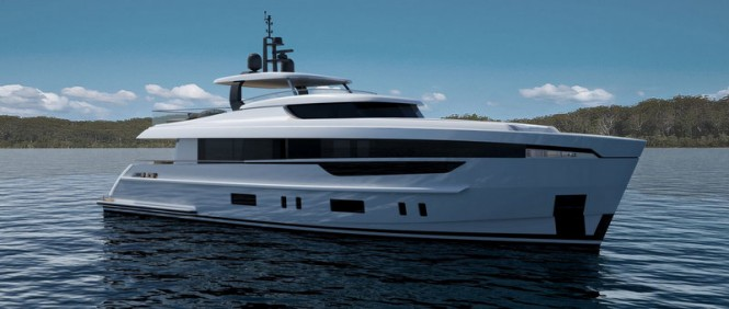 Luxury motor yacht Mulder 2800 RPH concept