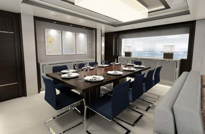'116 Yacht' superyacht - Dining