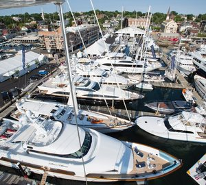Selection of World-Class Yachts Available for Superyacht Charter on Display at Newport Charter Yacht Show