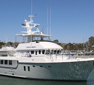 Delivery of Nordhavn 76 hull #21 Motor Yacht SWEET HOPE 2
