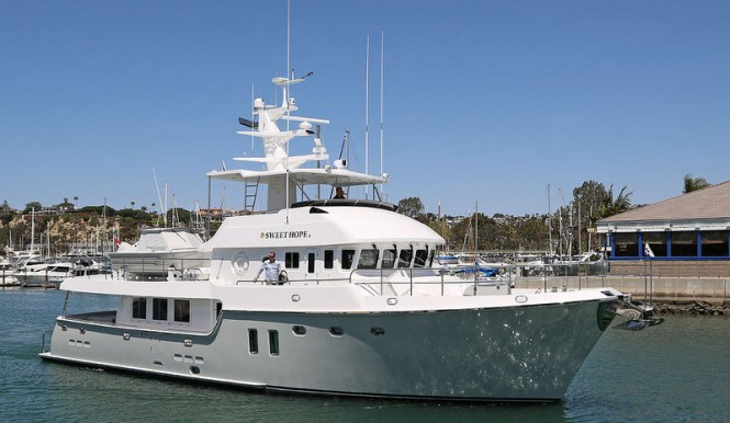21th Nordhavn 76 Motor Yacht SWEET HOPE II