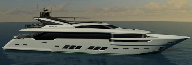 34M DREAMLINE superyacht