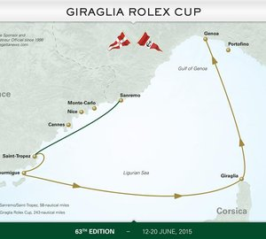 Popular and Historic Giraglia Rolex Cup 2015 to kick off this month
