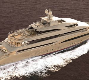 Graceful 72m Mega Yacht O'PARI 3 to be delivered soon