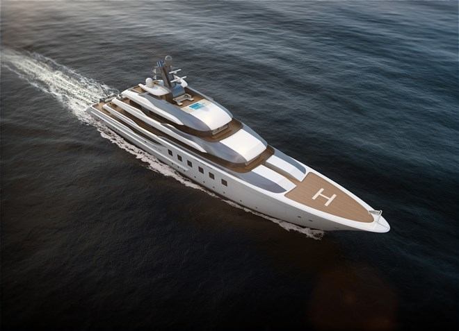80m Blohm+Voss superyacht BV80 project
