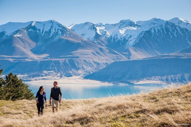 A spectacular New Zealand yacht charter destination - Image by Miles Holden - Courtesy of Tourism New Zealand