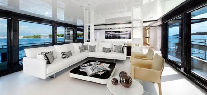 Arcadia 115 superyacht M Ocean - saloon