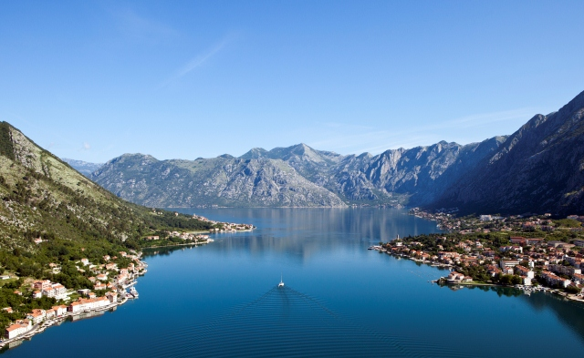 Bay of Kotor - a stunning Montenegro yacht charter destination