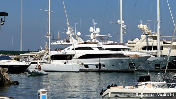 Benetti Tradition 105 Yacht ORSO 3 in Livorno, Italy - Photo by Roberto Malfatti