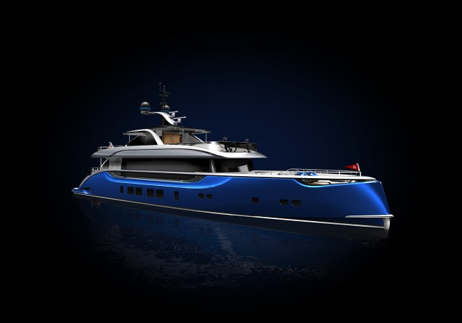 DYNAMIQ D4 Yacht in Bright Atlantic Blue