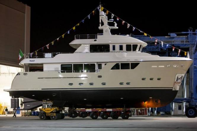 Darwin 86 explorer yacht Stella del Nord by CdM - Photo by Maurizio Paradisi