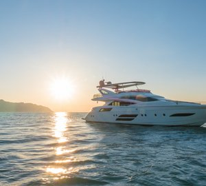 Exterior shots of newly launched Dominator 800/02 Motor Yacht DOLLY