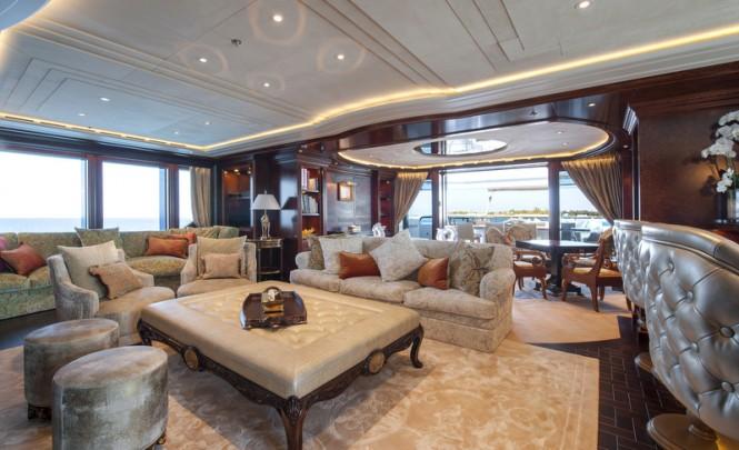 ESTER III Yacht - Skylounge - Photo by Klaus Jordan