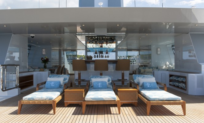 ESTER III Yacht - Sun Deck - Photo by Klaus Jordan