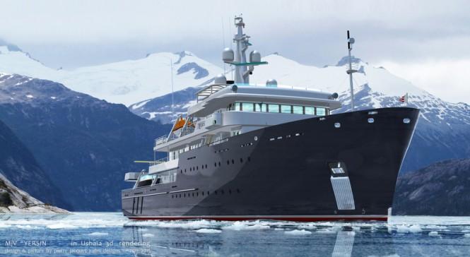 Expedition yacht YERSIN