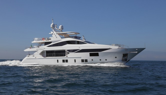 Fast Displacement Line Yacht by BENETTI