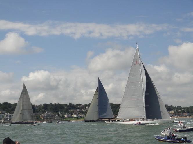 J Class yachts - Ocean Village Marina