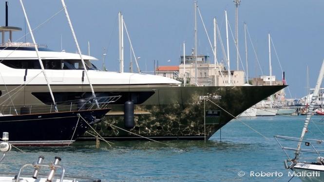 Luxury motor yacht ACHILLES - Photo by Roberto Malfatti