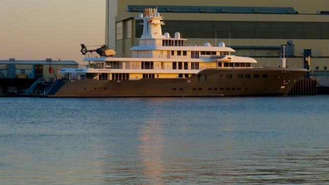 Luxury motor yacht ICE by Lurssen - Photo by DrDuu