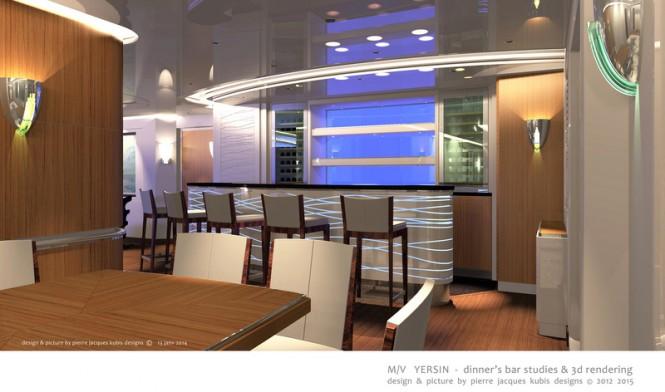 Luxury motor yacht YERSIN - Bar