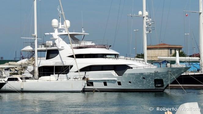 Luxury yacht ATTITUDE - Photo by Roberto Malfatti