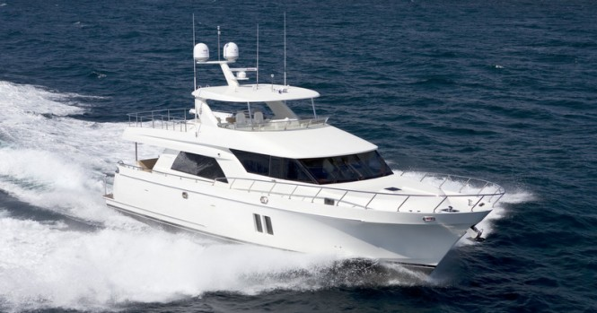 Luxury yacht Ocean Alexander 72 Pilothouse