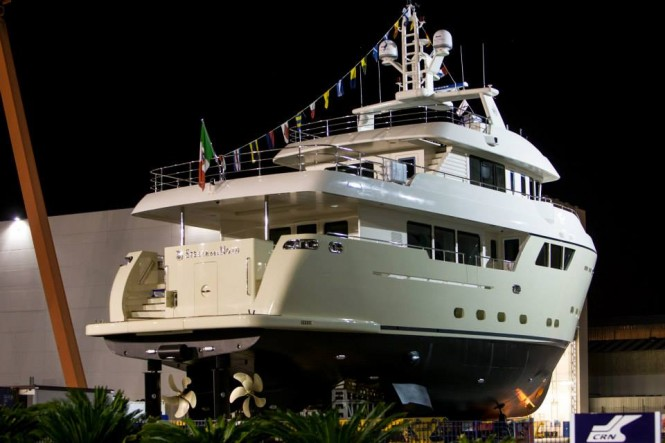 Luxury yacht Stella del Nord - aft view - Photo by Maurizio Paradisi