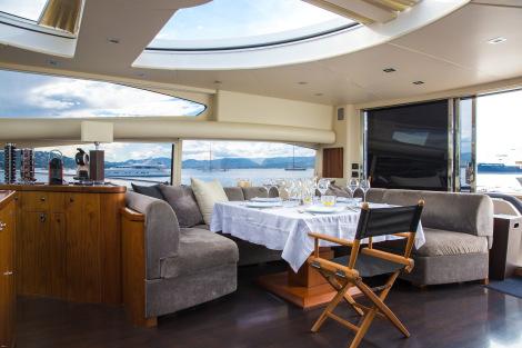 MAORO Yacht - Interior