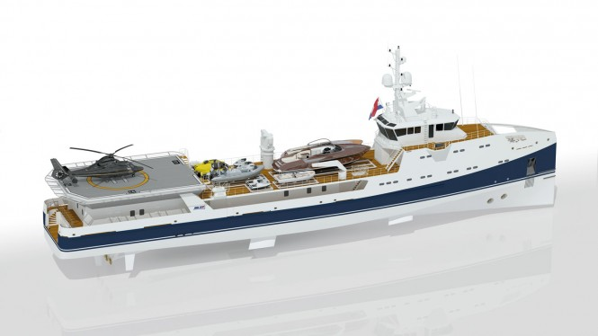 Mega Yacht Support Vessel SEA AXE 6911