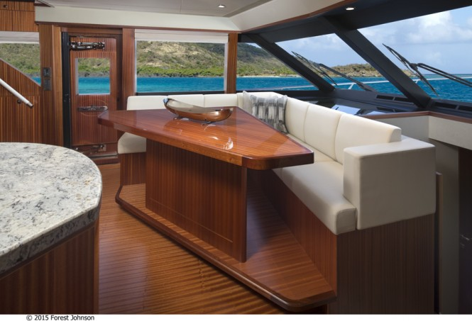 Motor yacht 72 Ocean Alexander - Image by 2015 Forest Johnson