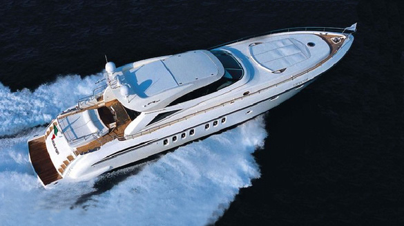 Motor yacht AMIR III - From Above