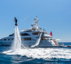 Thinking about a Mediterranean Yacht Vacation? 50m QM OF LONDON superyacht has it all!