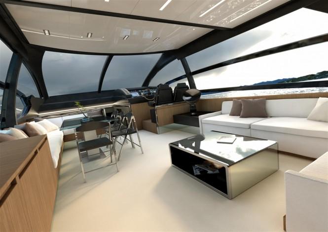 Motor yacht RIVA 76 Coupé - Saloon