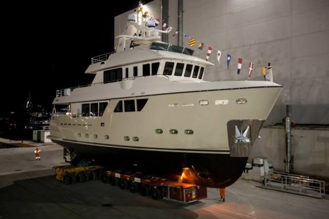 Motor yacht Stella del Nord - Photo by Maurizio Paradisi