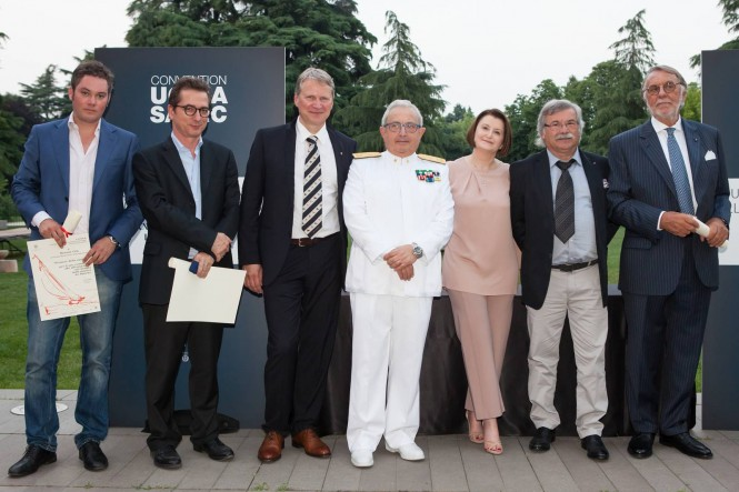 Nauta Yachts Founders Awarded as 'Pioneers of the Boating Industry' - Photo courtesy of UCINA