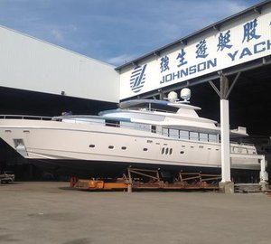Technical launch of new Johnson 108' Yacht