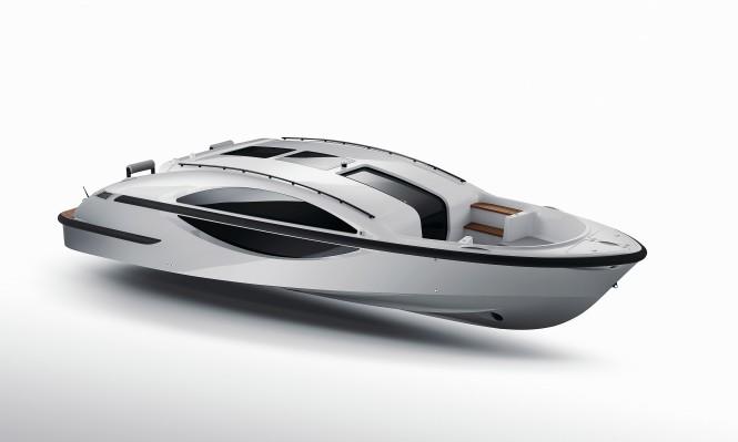 New Xtender 8.0 Limousine Tender to the 68m Lurssen superyacht GLOBAL (ex Kismet)