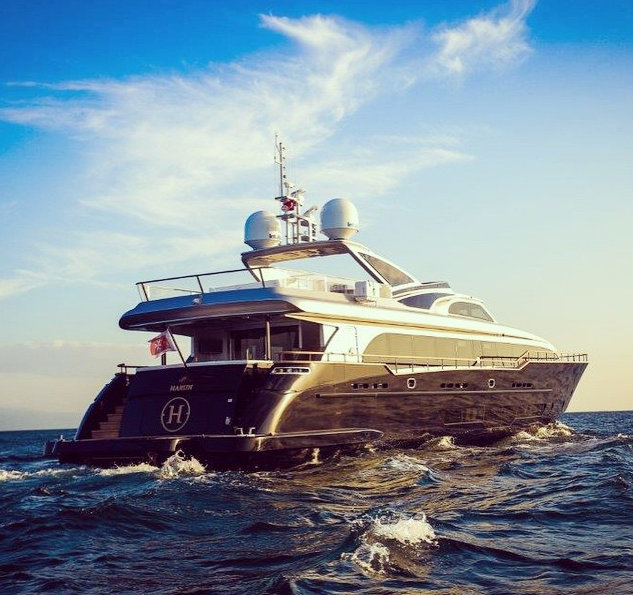 Newly launched 36m super yacht HARUN - Image by Harun Luxury Yachting
