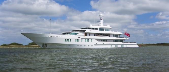 Newly refitted 70m Mega Yacht SIRAN