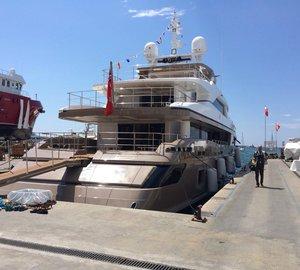 Sanlorenzo Motor Yacht PICK UP (ex CAROL) beautifully refitted by Rossinavi