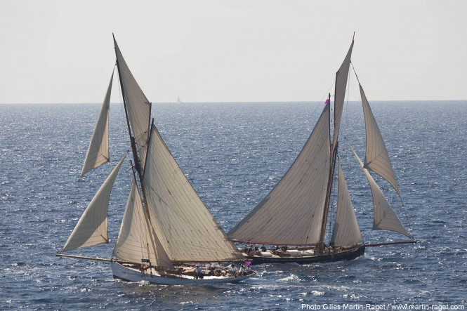 Partridge and Marigold Yachts under sail - Photo by Gilles Martin-Raget