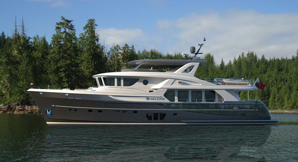 Rendering of Selene 92 Ocean Explorer superyacht
