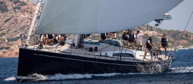 SW100 luxury yacht Cape Arrow